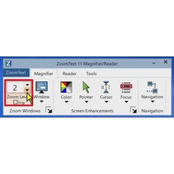 Zoomtext V11.2x Magnifier USB