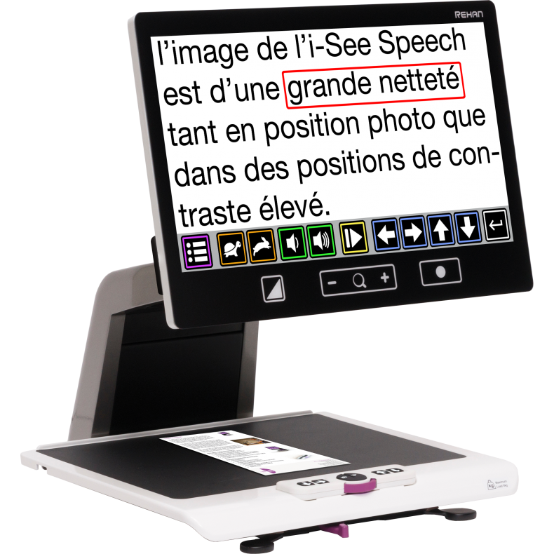 Téléagrandisseur iSee Speech