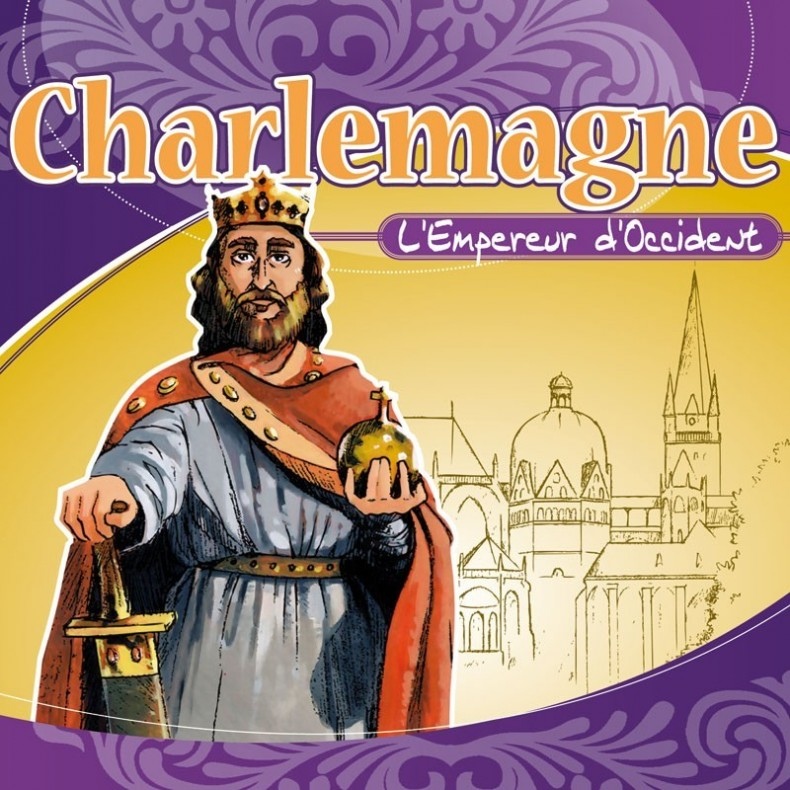 Histoire de France - Charlemagne - Cd audio