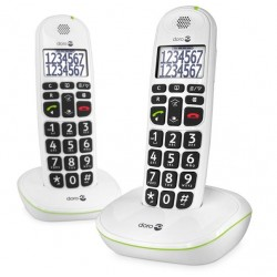 TELEPHONE SANS FIL PHONE EASY 110 BLANC DUO