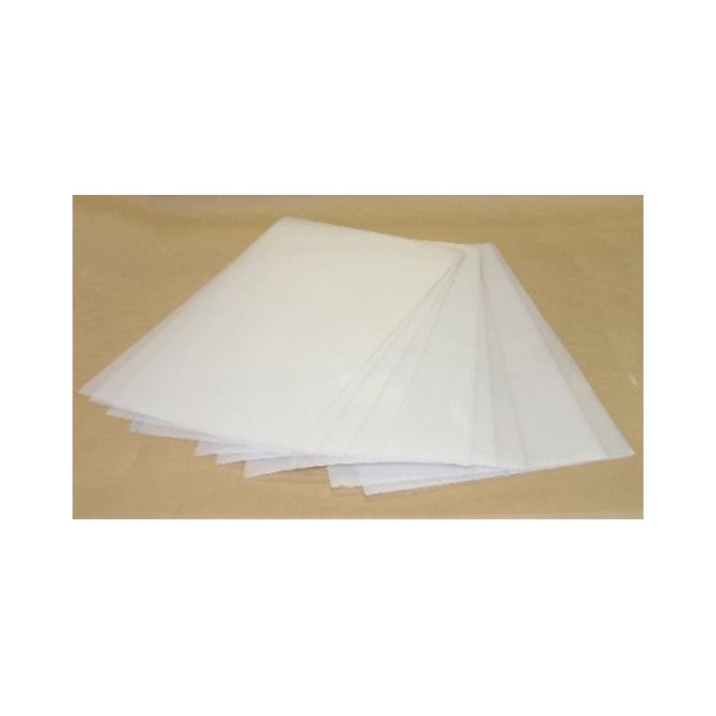 FEUILLE PLAST.BLANC POUR THERMOFORMAGE / FIN21X29,7