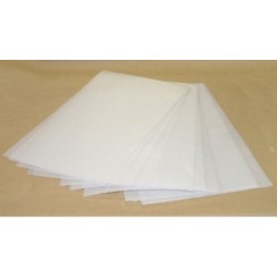 FEUILLE PLAST.BLANC POUR THERMOFORMAGE / FIN28X29,2